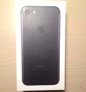 Коробка от оригинального IPhone 7 на 32 ГБ