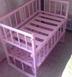 Прикроватная кроватка