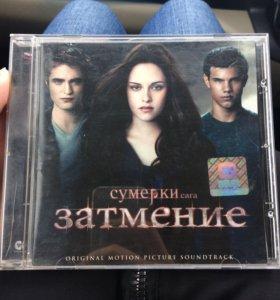 Лицензионный диск с официальными саундтреками