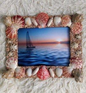 """Рамка для фотографий """"Черное море"""""""
