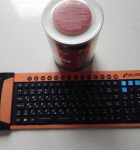 Клавиатура коврик беспроводная