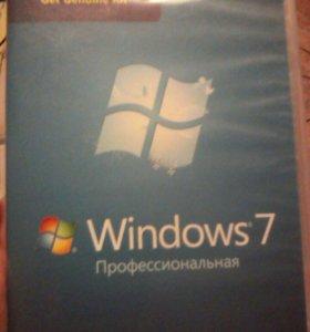 Windows 7.Профессиональная лицензированый