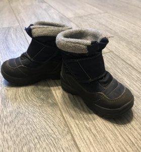 Зимние ботиночки р 20
