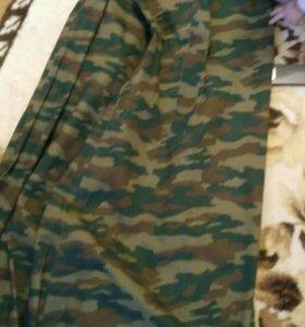 Военный свитер и плащ