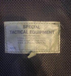 Разгрузочный жилет врачебный в военном исполнении.