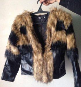 Кожаная курточка.