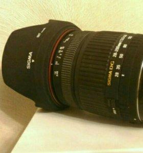 Sigma DG 28-200 mm для Canon Новый