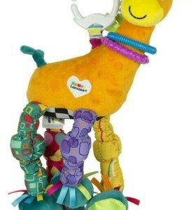 Мягкая игрушка Lamaze жираф НОВАЯ