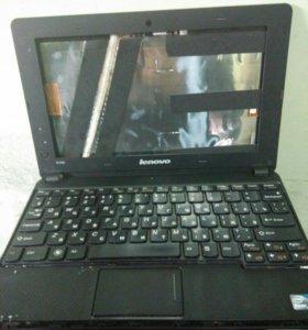 Нэтбук на запчасти Lenovo IdeaPad S100
