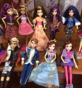 Куклы наследники/Disney Descendants