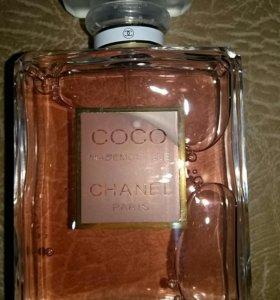 Chanel coco mademoiselle 100мл тестер
