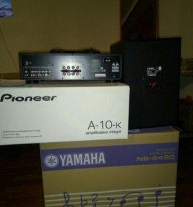 Усилитель Pioneer A-10-k, ac сист. Yamaha NS 6490