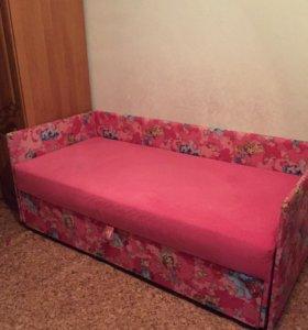 Детский диван двухъярусный