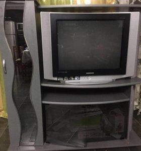 Телевизор Самсунг с подставкой