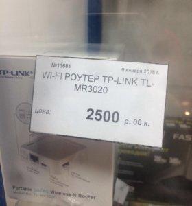 Wi-fi роутер новый под любую сим-карту