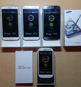 Samsung Galaxy Note 2, S3, S4 mini, Iphone 4