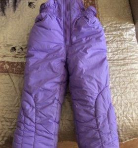 Полукомбинезон зима,размер 104