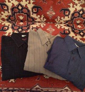 Рубашки мужские разм 54-56 пакетом