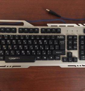 Клавиатура Qumo Real Steel