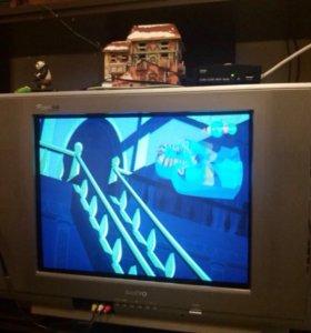 Телевизор с цифровой коробочкой