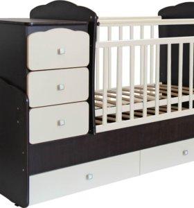 Кровать трансформер идеальное состояние