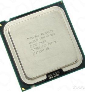 Процессор Intel Core 2 Duo E4500 LGA 775 + кулер