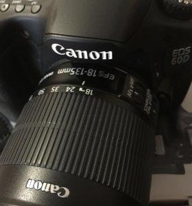 Фотоаппарат кенон d60