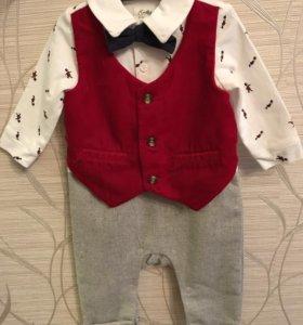 Детский нарядный костюмчик для мальчика Mothercare