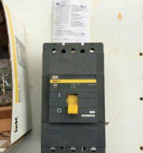 выключатель автоматический. новый 400А