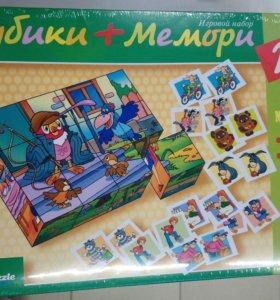 Кубики + мемори