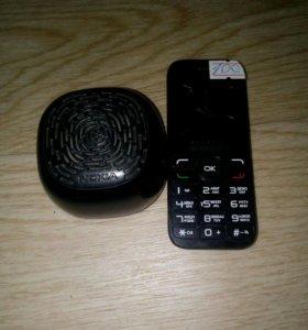 Колонка nokia и телефон alcatel