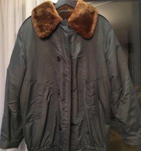 Мужская зимняя куртка 50размер