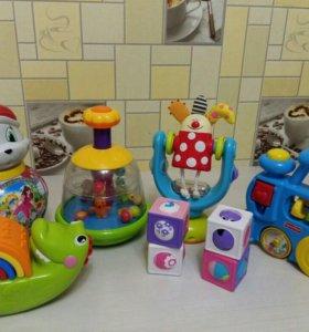Игрушки Fisher-Price, Taf Toys и др.
