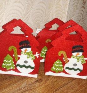 Сумочки для конфет и подарков