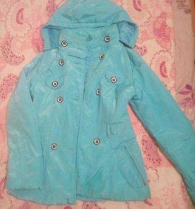 Куртка на девочку-подростка