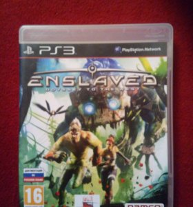 Диск Enslaved odyssey to the west (ps3)