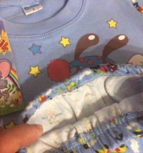Пижама на возраст 1-2г.