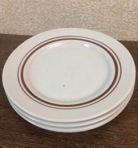 Тарелки фарфоровые обеденные, 30 шт