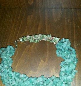 Ожерелье,колье и серьги