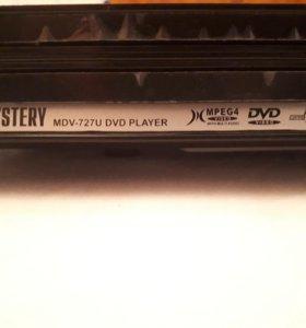 Видеоплеер DVD Mystery MDV-727U черный