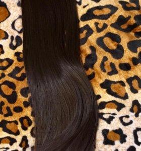 Волосы на заколках 60 см/ трессы