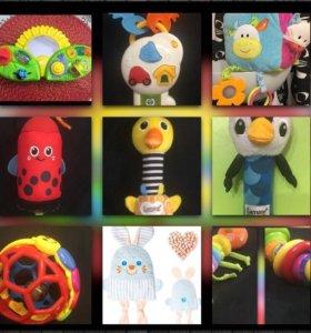 Фирменные игрушки развивалки