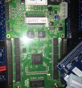 Видеоэкран LED RGB:Видеодисплей P10 RGB 96/96 см