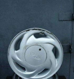 Литой диск ВАЗ, R14, 1шт. + 4шт.