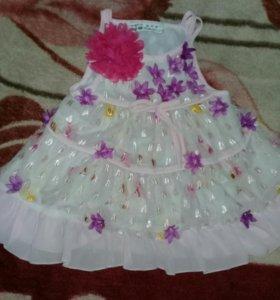 Детское платье на 2-3 года
