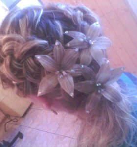 Причёски, стрижки,плетение кос . Окрашивание волос
