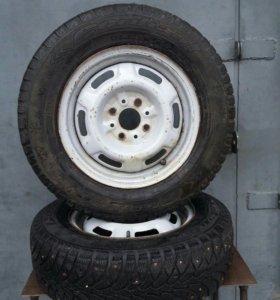 Колеса R13 175/70, Gordiant Sno-Max, 2шт.