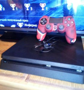 Sony Playstation 4 slim +35 игр