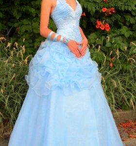 Нежное платье для выпускного или свадьбы