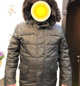Куртка мужская зимняя (пуховик). р 48-50